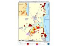 Карта на типове инвестиционни проекти в защитена зона Дуранкулашко езеро
