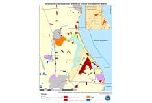 Карта на типове инвестиционни проекти в защитена зона Шабленски езерен комплекс