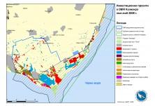 Карта на инвестиционни проекти в орнитологично важно място Калиакра